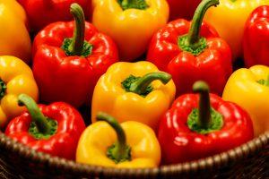 ビタミンC含有量の多い食材・パプリカ