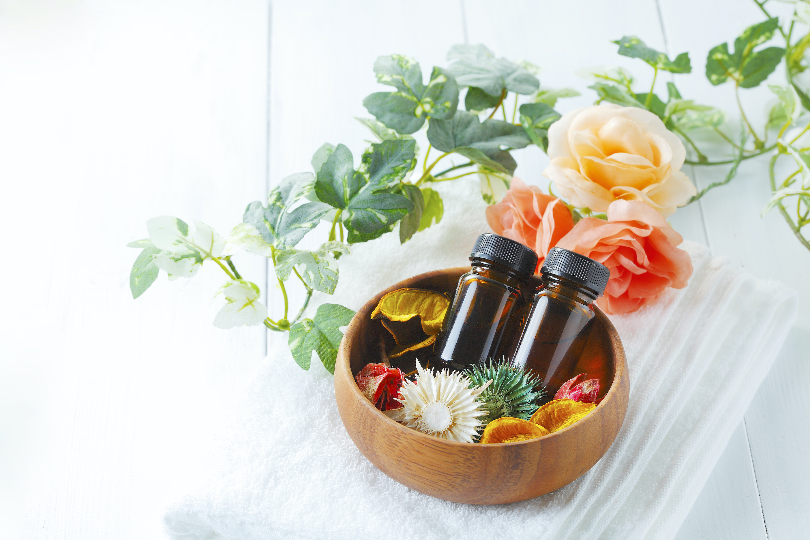 1.化粧品の香りのもたらす効果