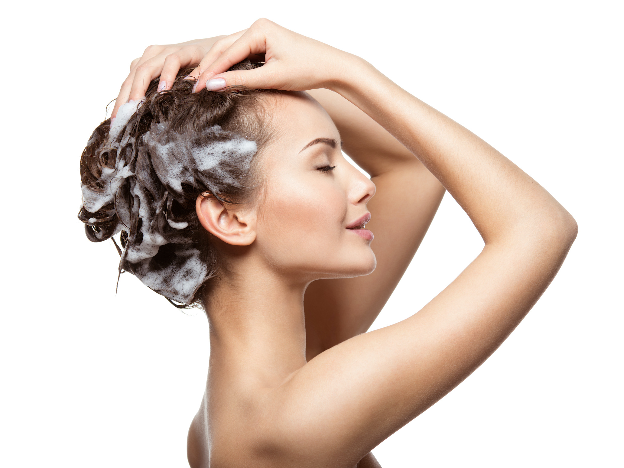 2.バスタイムのヘッドマッサージで頭皮をケアして、美容&リフレッシュ!